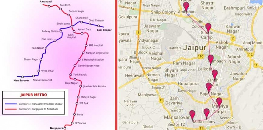 Chinese Company shows interest to work With Jaipur Metro Phase-2