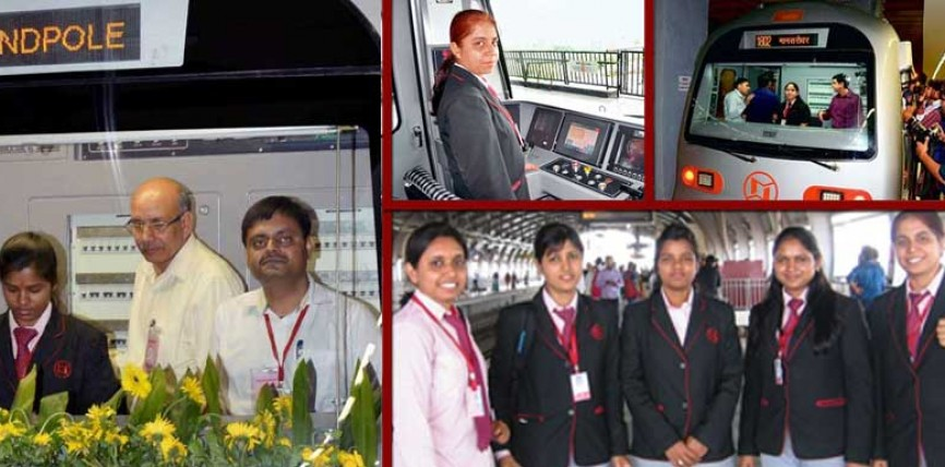 25 Per cent Operators are Women in Jaipur Metro